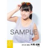 SKE48 2015年8月度個別生写真「夏服」5枚セット 片岡成美