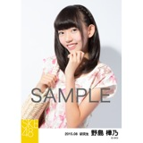 SKE48 2015年8月度個別生写真「夏服」5枚セット 野島樺乃