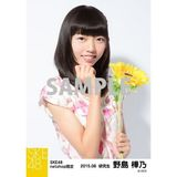 SKE48 2015年8月度net shop限定個別生写真 5枚セット 野島樺乃