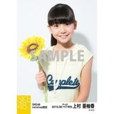SKE48 2015年8月度net shop限定個別生写真 5枚セット 上村亜柚香