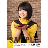 SKE48 2015年9月度net shop限定個別生写真 5枚セット 北野瑠華