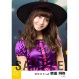 SKE48 2015年10月度個別生写真「ハロウィン」5枚セット 柴田阿弥