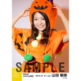SKE48 2015年10月度net shop限定個別生写真 5枚セット 山田樹奈