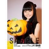 SKE48 2015年10月度net shop限定個別生写真 5枚セット 上村亜柚香