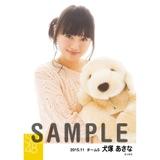 SKE48 2015年11月度個別生写真「ルームウェア」5枚セット 犬塚あさな