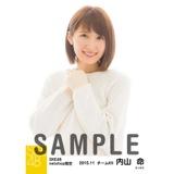 SKE48 2015年11月度net shop限定個別生写真 5枚セット 内山命