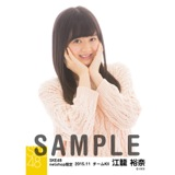 SKE48 2015年11月度net shop限定個別生写真 5枚セット 江籠裕奈