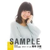 SKE48 2015年11月度net shop限定個別生写真 5枚セット 髙寺沙菜