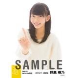 SKE48 2015年11月度net shop限定個別生写真 5枚セット 野島樺乃