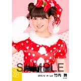 SKE48 2015年12月度個別生写真「クリスマス」5枚セット 竹内舞