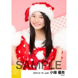 SKE48 2015年12月度個別生写真「クリスマス」5枚セット 小畑優奈
