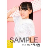 SKE48 2015年12月度個別生写真「クリスマス」5枚セット 片岡成美