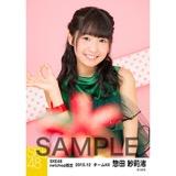 SKE48 2015年12月度net shop限定個別生写真 5枚セット 惣田紗莉渚