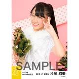 SKE48 2015年12月度net shop限定個別生写真 5枚セット 片岡成美