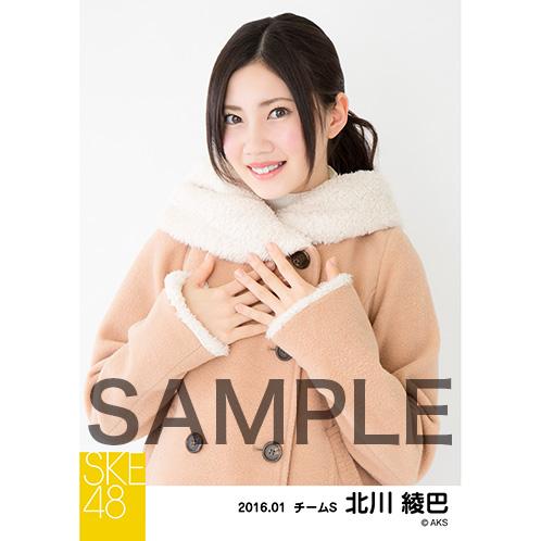 SKE48 2016年1月度個別生写真「冬服」5枚セット 北川綾巴