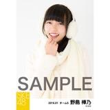 SKE48 2016年1月度個別生写真「冬服」5枚セット 野島樺乃