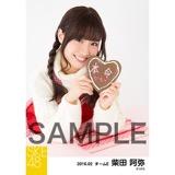 SKE48 2016年2月度個別生写真「バレンタイン」5枚セット 柴田阿弥