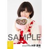 SKE48 2016年2月度個別生写真「バレンタイン」5枚セット 水野愛理