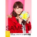 SKE48 2016年2月度 net shop限定個別生写真「バレンタインII」5枚セット 山内鈴蘭