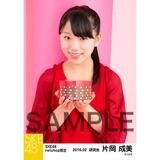 SKE48 2016年2月度 net shop限定個別生写真「バレンタインII」5枚セット 片岡成美