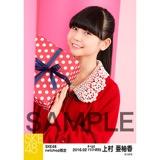 SKE48 2016年2月度 net shop限定個別生写真「バレンタインII」5枚セット 上村亜柚香