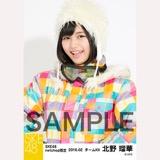 SKE48 2016年2月度 net shop限定個別生写真「スノボ ウェア」5枚セット 北野瑠華