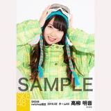 SKE48 2016年2月度 net shop限定個別生写真「スノボ ウェア」5枚セット 高柳明音
