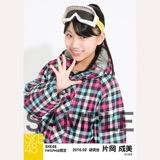 SKE48 2016年2月度 net shop限定個別生写真「スノボ ウェア」5枚セット 片岡成美