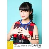 SKE48 2016年3月度 net shop限定個別生写真「レトロガーリー」5枚セット 竹内彩姫