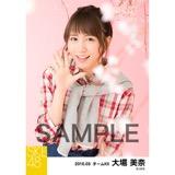 SKE48 2016年3月度 個別生写真「お花見」5枚セット 大場美奈
