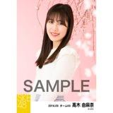 SKE48 2016年3月度 個別生写真「お花見」5枚セット 高木由麻奈
