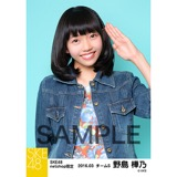 SKE48 2016年3月度 net shop限定個別生写真「春旅行」5枚セット 野島樺乃