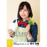 SKE48 2016年4月度 net shop限定個別生写真「お花屋さん」5枚セット 青木詩織