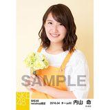 SKE48 2016年4月度 net shop限定個別生写真「お花屋さん」5枚セット 内山命