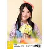 SKE48 2016年4月度 net shop限定個別生写真「お花屋さん」5枚セット 小畑優奈