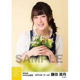 SKE48 2016年4月度 net shop限定個別生写真「お花屋さん」5枚セット 鎌田菜月