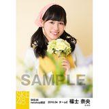 SKE48 2016年4月度 net shop限定個別生写真「お花屋さん」5枚セット 福士奈央