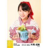 SKE48 2016年4月度 net shop限定個別生写真「お花屋さん」5枚セット 片岡成美