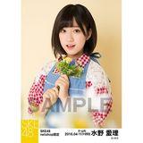 SKE48 2016年4月度 net shop限定個別生写真「お花屋さん」5枚セット 水野愛理