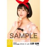 SKE48 2016年4月度 net shop限定個別生写真「水玉ガーリー」5枚セット 北野瑠華