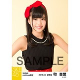 SKE48 2016年4月度 net shop限定個別生写真「水玉ガーリー」5枚セット 町音葉