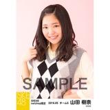 SKE48 2016年5月度 net shop限定個別生写真「アーガイル ニット」5枚セット 山田樹奈
