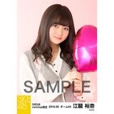 SKE48 2016年5月度 net shop限定個別生写真「アーガイル ニット」5枚セット 江籠裕奈