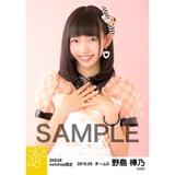 SKE48 2016年5月度 net shop限定個別生写真「ピンクフリル」5枚セット 野島樺乃