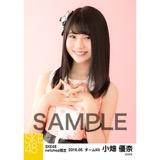 SKE48 2016年5月度 net shop限定個別生写真「ピンクフリル」5枚セット 小畑優奈