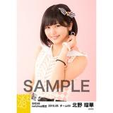 SKE48 2016年5月度 net shop限定個別生写真「ピンクフリル」5枚セット 北野瑠華