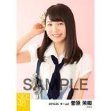 SKE48 2016年5月度 個別生写真「デニム制服」5枚セット 菅原茉椰