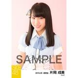 SKE48 2016年5月度 個別生写真「デニム制服」5枚セット 片岡成美