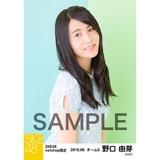 SKE48 2016年6月度 net shop限定個別生写真「初夏 ワンピース」5枚セット 野口由芽