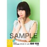 SKE48 2016年6月度 net shop限定個別生写真「初夏 ワンピース」5枚セット 高柳明音